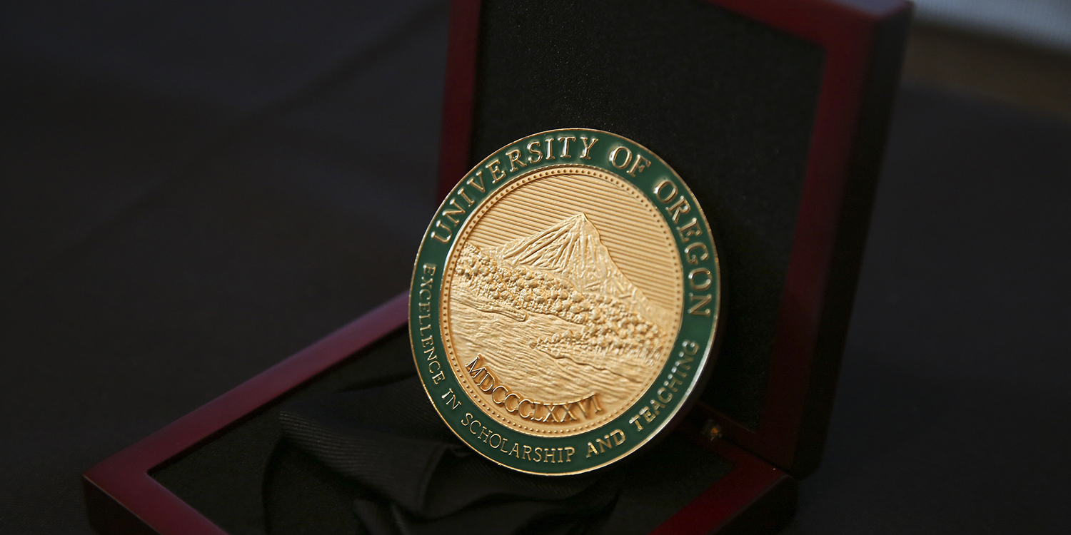 Fund for Faculty Excellence award medallion