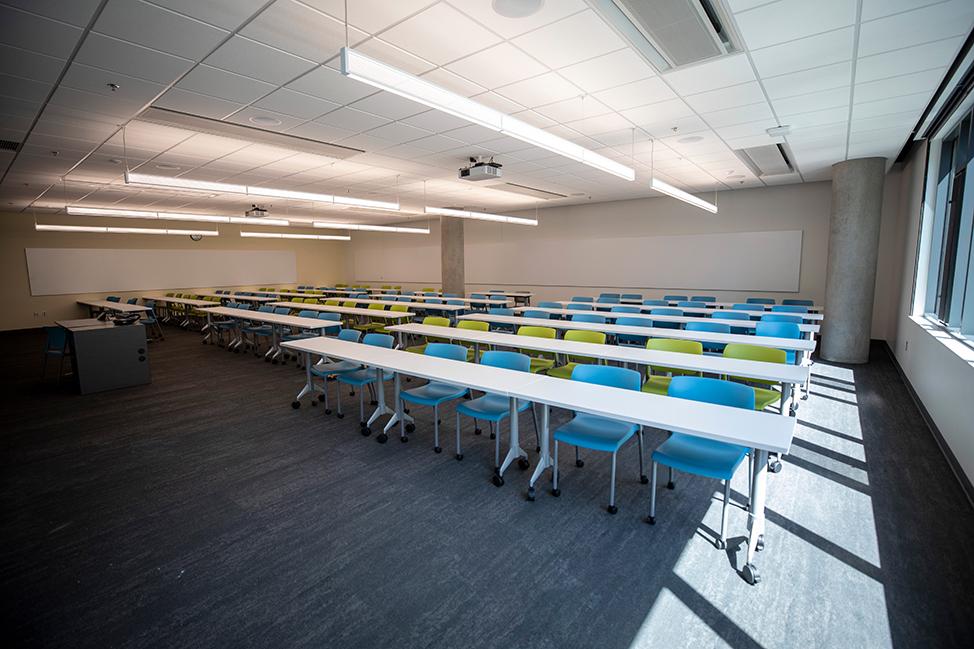 Tykeson Hall classroom